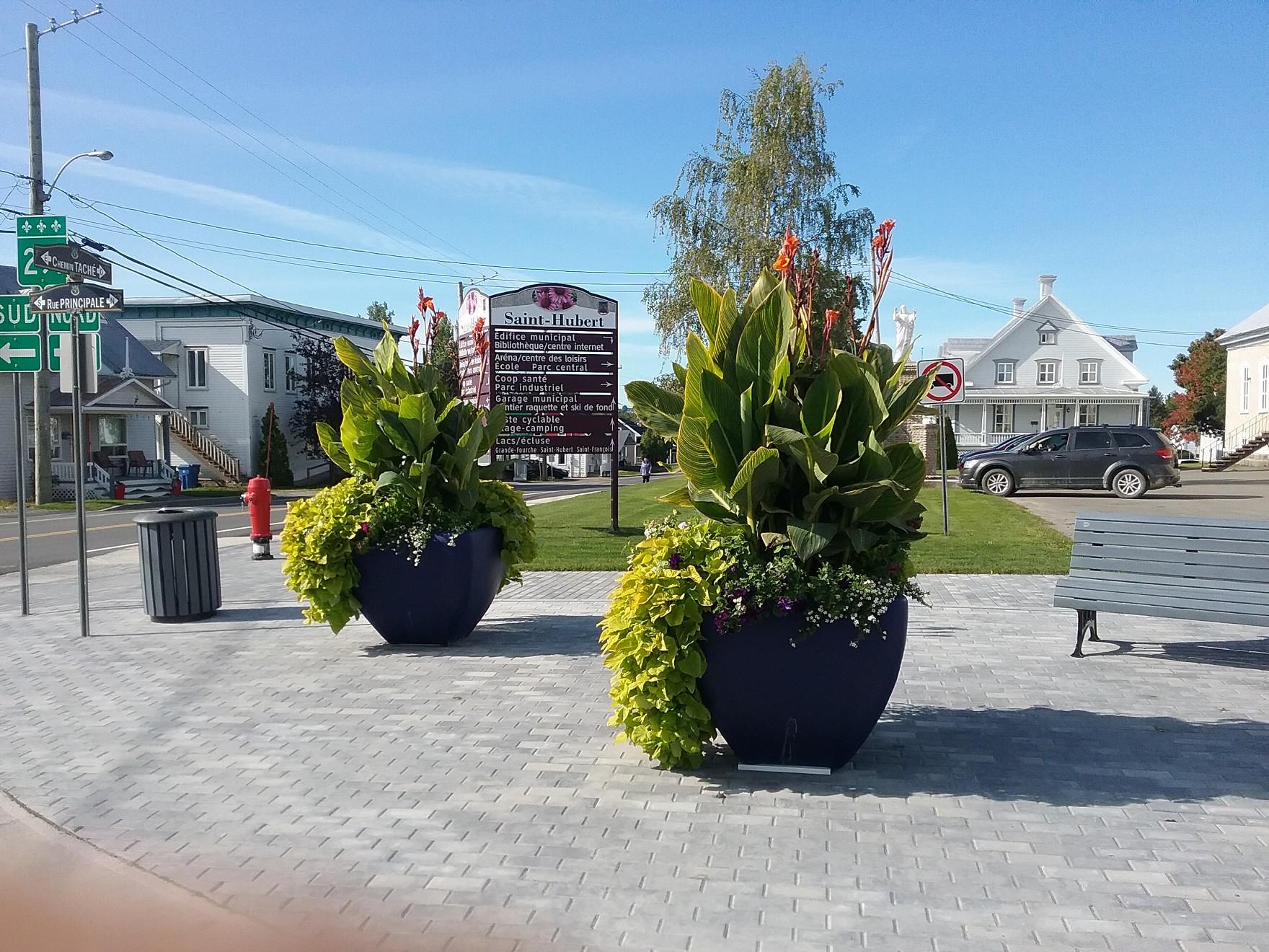 Pot fleurs 4 coins 2020
