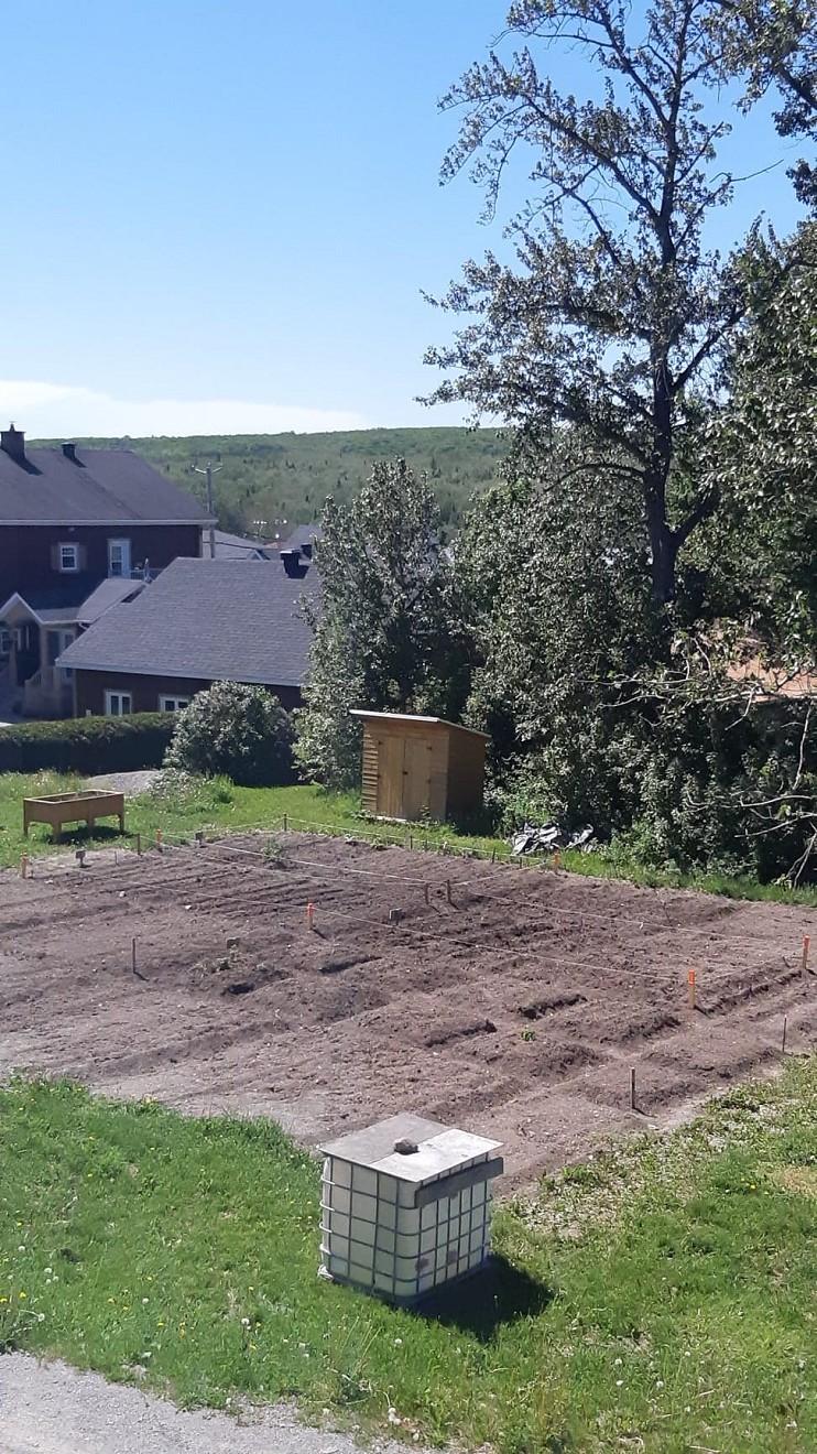 Jardin communautire 2021