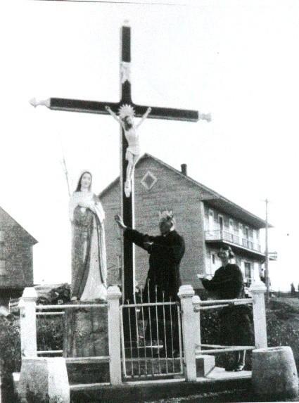 Croix de chemin 1950