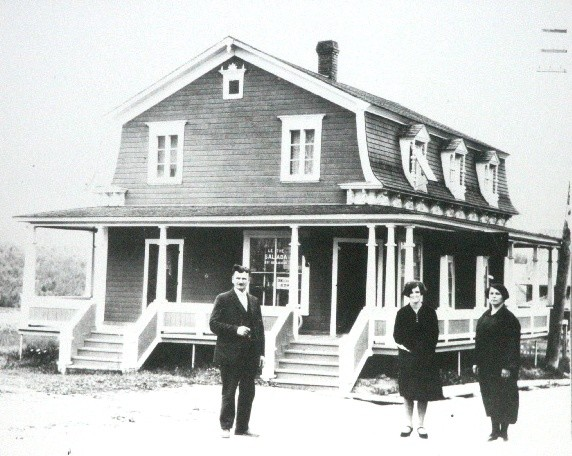 Hôtel central en 1920 (Auteur : Josée Ouellet)