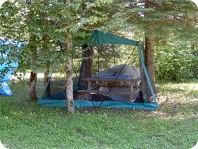 Camping sauvage 2006