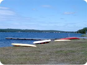 Camping 2006 : Kayak et lac