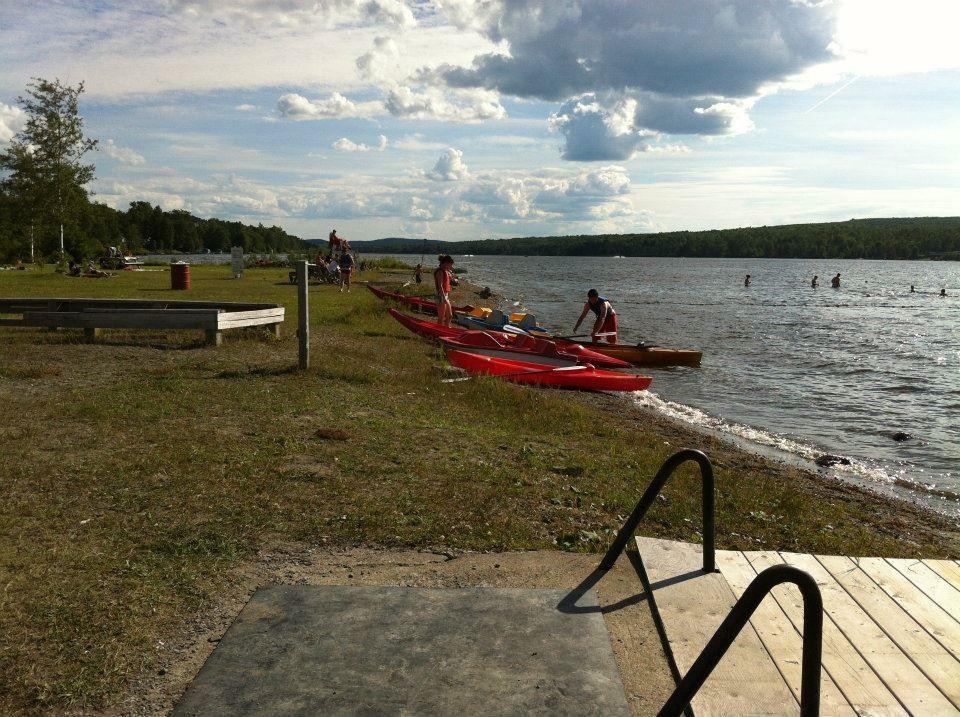 Plage et Kayak